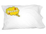 Dreaming of Bacon Pillow from Graphics and More on Amazon.com