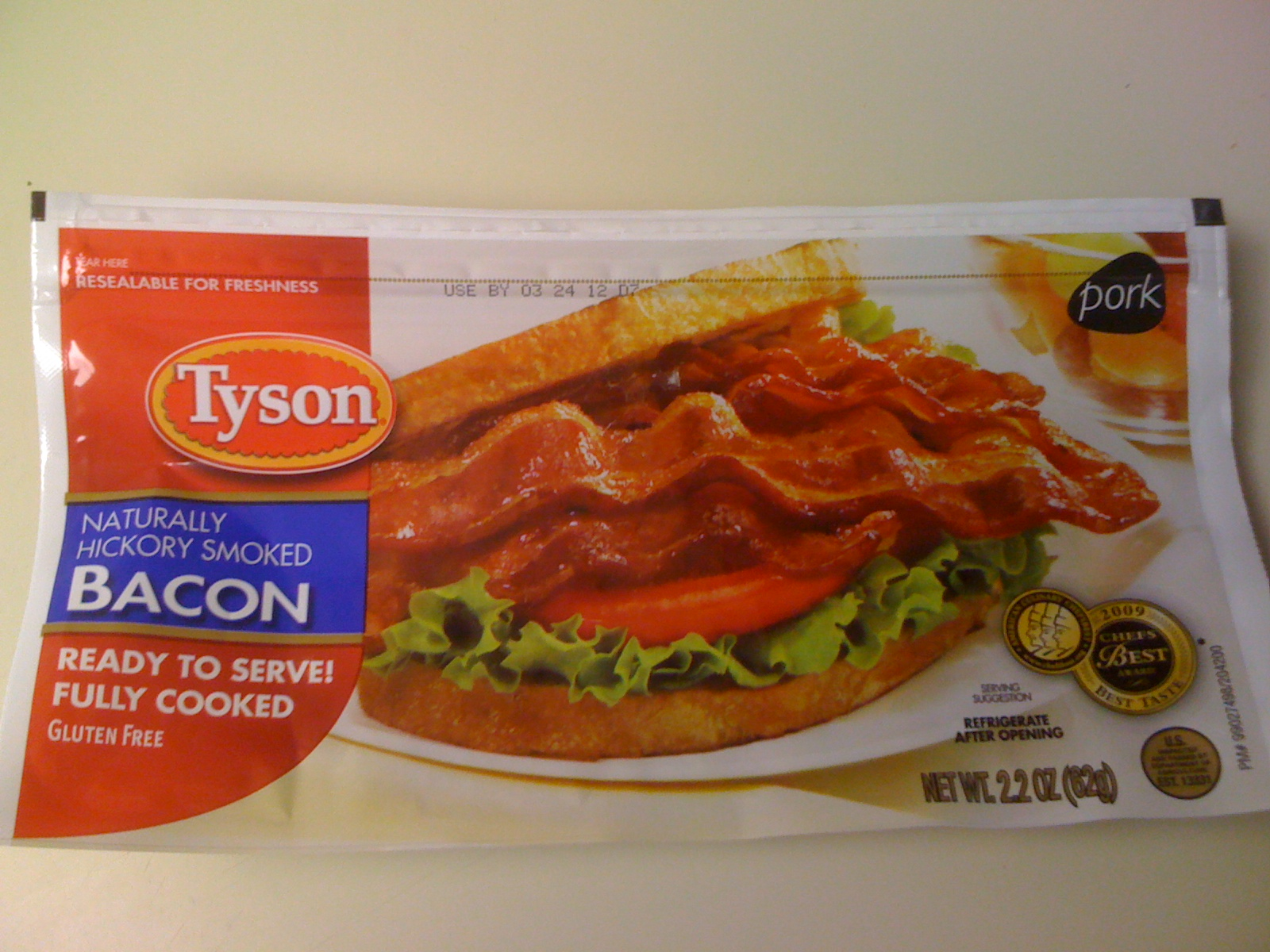 Product Review Tyson Fully Cooked Bacon Bacon In The Oven