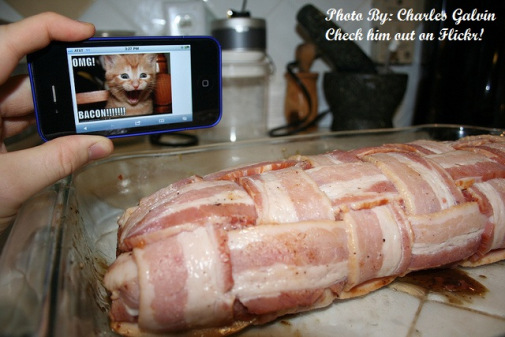 Picture by friend, Charlie at 2012 Bacon Day.  Click the photo to be directed to his Flickr account.