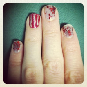 Did my bacon nails!