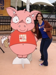 Me and the Big Pig