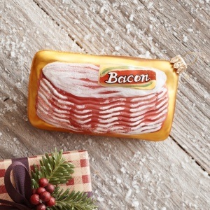 Package of Bacon Ornament from Sur La Table