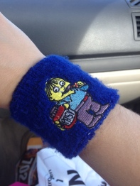 My sweat band.